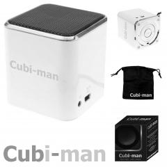 Lautsprecher cubi-man weiß