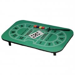Casino-Tisch Blackjack inkl. Zubehör