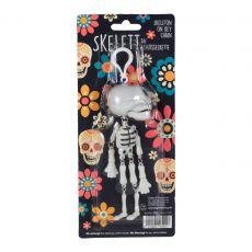 Totenkopf / Skelett mit Klappergebiß