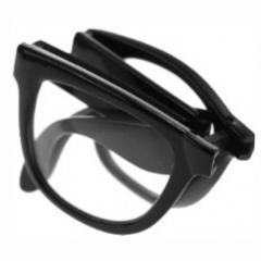 Nerdbrille - Nerd Brille inkl. Etui