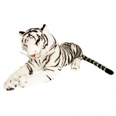 Plüsch Tiger weiß  100 cm