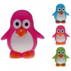 Gummi-Pinguin Color 6 cm