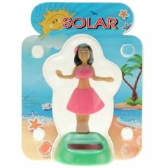 Solar-Figur Wackelfigur Hula-Girl 11 cm
