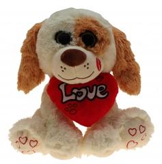 Plüsch Hund Herzi 75 cm