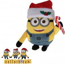 Plüsch Minions X-Mas Gift Quality 15 cm