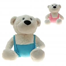 Plüsch Bär Bären Mit Latzhose 42 cm