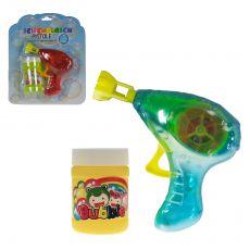 Seifenblasenpistole Bubble-Gun mit Lichteffekt
