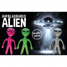Aufblasbares Alien 60 cm