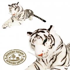 Plüsch Tiger weiß  220 cm