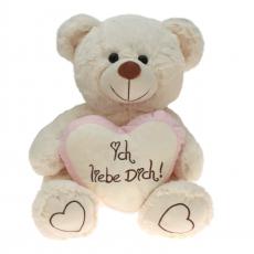 Plüsch Bär Liebesbären mit rosa Herz  65 cm