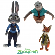 Plüsch Disney Zoomania Mix Gift Quality 30 cm