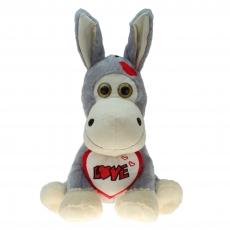 Plüsch Esel mit Herz Eric 20 cm