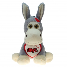 Plüsch Esel mit Herz Eric 30 cm