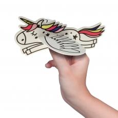 Styropor Flieger Einhorn 16 cm