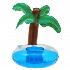 Aufblasbarer Getränkehalter Palme 25 cm