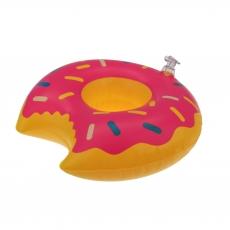 Aufblasbarer Getränkehalter Donut 22 cm