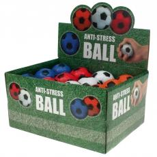 Knautschball Stressball Fußball 6 cm