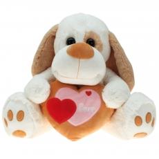 Plüsch Hund mit Herz Hauke 80 cm
