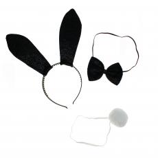 Kostüm Bunny-Set 3-teilig