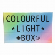LED Leuchtkasten Colour Mix