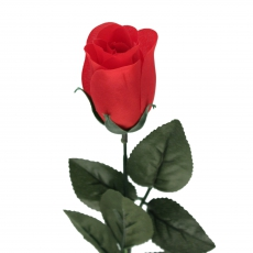 Kunstblume Rote Rose - Baccara 60 cm