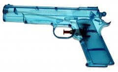 Wasserpistole Transparent Klassiker 20 cm