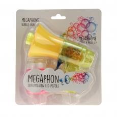 Seifenblasenpistole Megaphon mit LED Licht