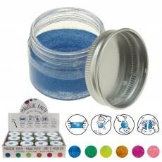 Magische Knete Glitzer  30 g