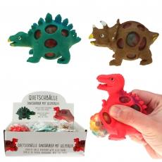 Quetschball Dinosaurier, 3-fach sortiert