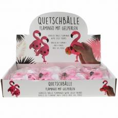 Quetschball Flamingo 13 cm, pink