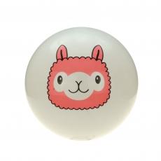Aufblasbarer Lama Ball 25cm 2-fach sortiert