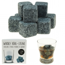Whiskey Steine in Box