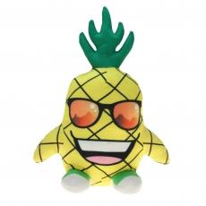 Crazy Ananas mit Brille 3-fach sortiert 28cm