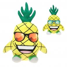 Crazy Ananas mit Brille 3-fach sortiert 38cm