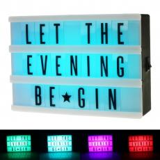LED Leuchtkasten Colour Mix
