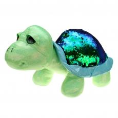 Schildkröte mit Pailletten Shiny 18 cm