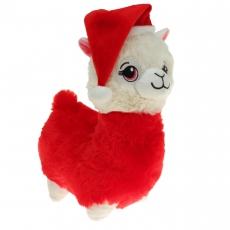 Plüsch Lama Santa 35 cm