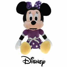 Plüsch Disney Minnie Mouse lila, Gift Quality 70 cm