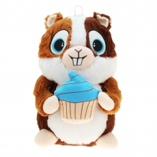 Plüsch Hamster mit Cupcake Hugo & Helga 45 cm