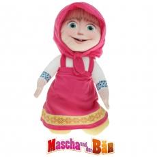 """plüsch """"mascha und der bär"""" gift quality 22 cm"""