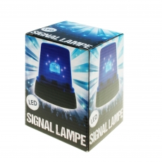 LED Signallampe Blau Rundumlicht