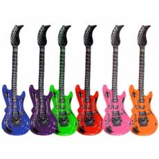 Aufblasbare Luftgitarre Rockstar 55 cm