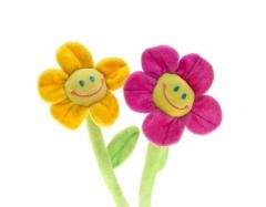 Plüsch Blume mit Gesicht Anna 35 cm