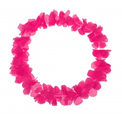 Blumenkette Pink