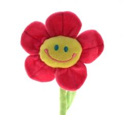 Plüsch Blume mit Gesicht 60 cm