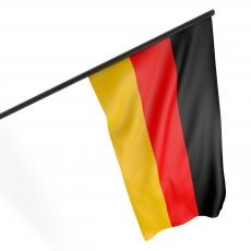 Fahne Deutschland 45 x 30 cm