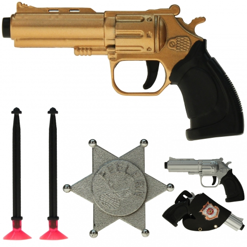 Action Set Police 15 X 8 Cm