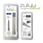 Stylus Touch Pen 2er Set Minen Zuluu Z1 blau