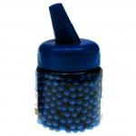 Softair Munition 1000 Kugeln blau poliert