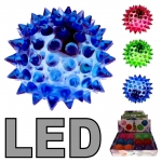 LED Flummi Igel 55 mm